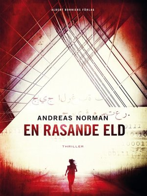 cover image of En rasande eld
