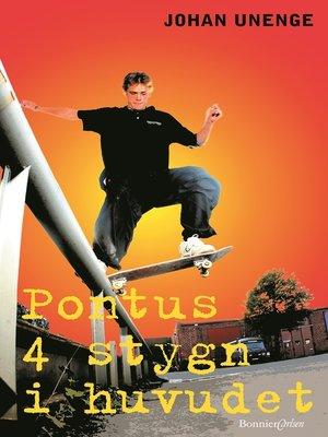 cover image of Pontus 4 stygn i huvudet