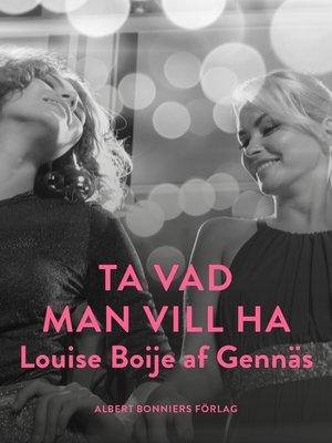 cover image of Ta vad man vill ha