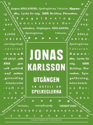 cover image of Utgången