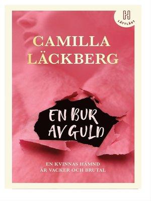 cover image of En bur av guld (lättläst)