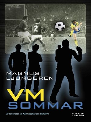 cover image of VM-sommar