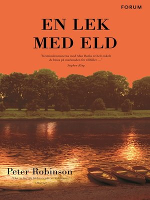 cover image of En lek med eld