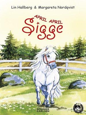 cover image of April, April Sigge
