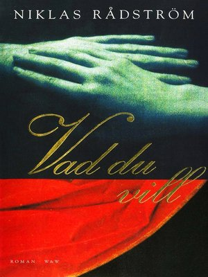cover image of Vad du vill