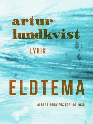cover image of Eldtema