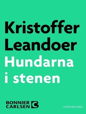 cover image of Hundarna i stenen