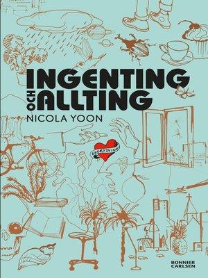 cover image of Ingenting och allting