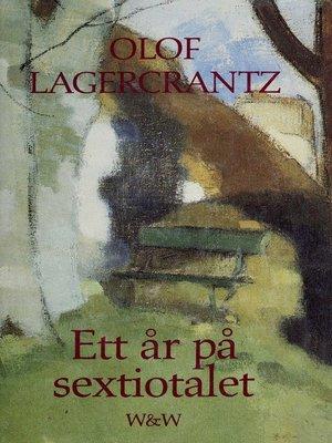 cover image of Ett år på sextiotalet