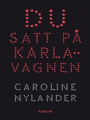 cover image of Du satt på Karlavagnen