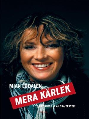 cover image of Mera kärlek