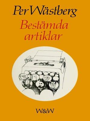 cover image of Bestämda artiklar
