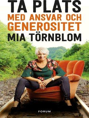 cover image of Ta plats med ansvar och generositet