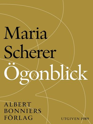 cover image of Ögonblick