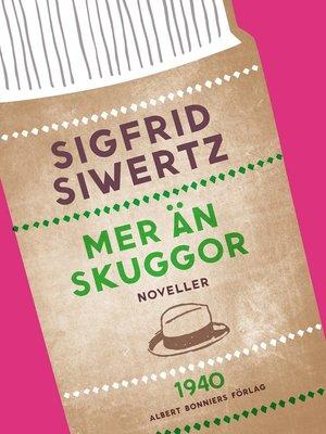 cover image of Mer än skuggor