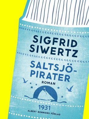 cover image of Saltsjöpirater