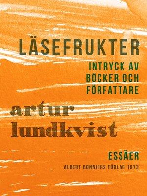 cover image of Läsefrukter