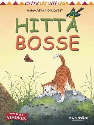 cover image of Hitta Bosse