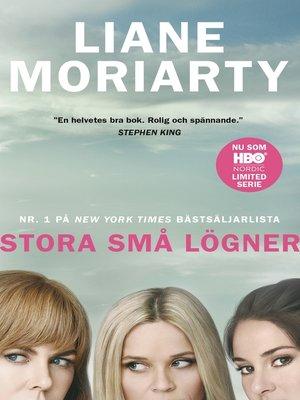 cover image of Stora små lögner