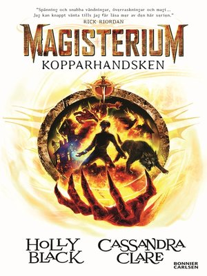 cover image of Kopparhandsken