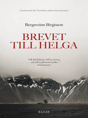 cover image of Brevet till Helga