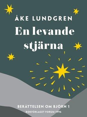 cover image of En levande stjärna