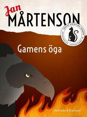 cover image of Gamens öga