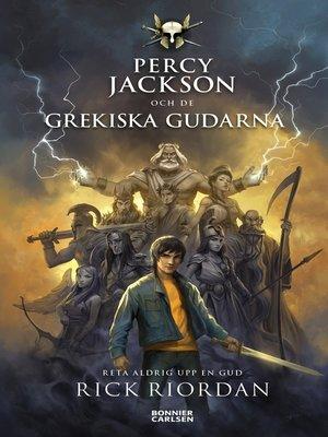 cover image of Percy Jackson och de grekiska gudarna
