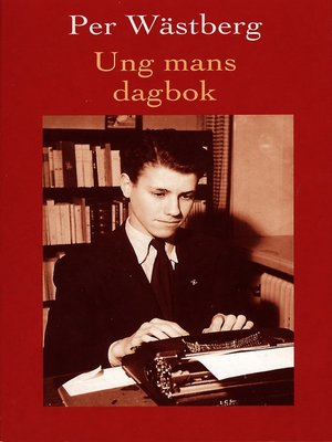 cover image of Ung mans dagbok