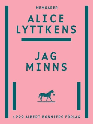 cover image of Jag minns