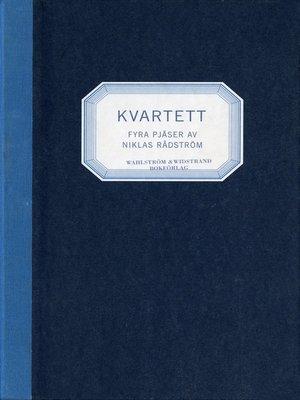 cover image of Kvartett
