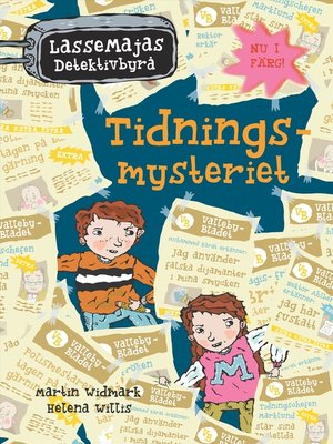 cover image of Tidningsmysteriet