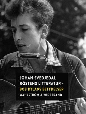 cover image of Röstens litteratur