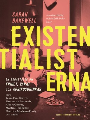 cover image of Existentialisterna