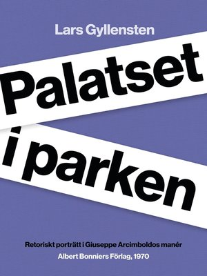 cover image of Palatset i parken