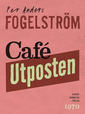 cover image of Café Utposten