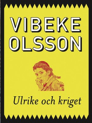 cover image of Ulrike och kriget