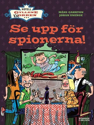 cover image of Se upp för spionerna!