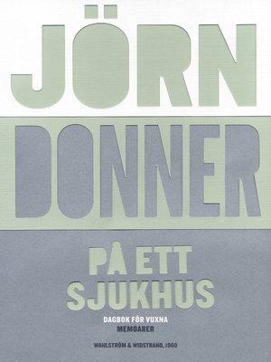 cover image of På ett sjukhus
