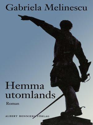 cover image of Hemma utomlands