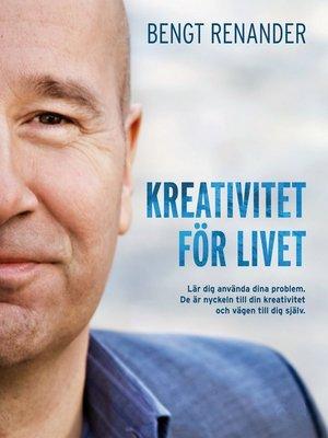 cover image of Kreativitet för livet