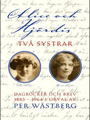 cover image of Alice och Hjördis