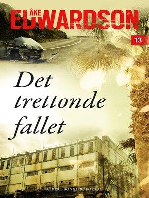 cover image of Det trettonde fallet