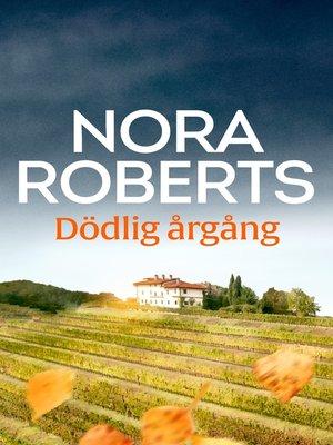 cover image of Dödlig årgång