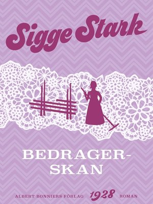 cover image of Bedragerskan