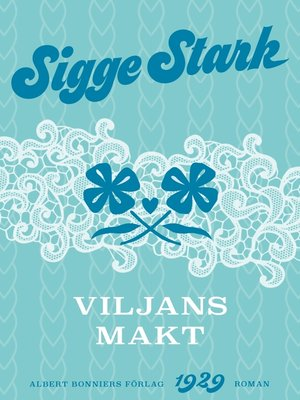 cover image of Viljans makt