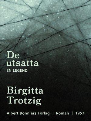 cover image of De utsatta