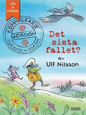 cover image of Kommissarie Gordon. Det sista fallet? /e-bok + ljud)