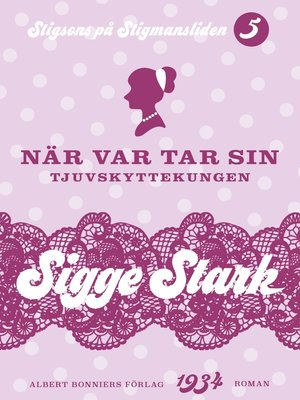cover image of När var tar sin