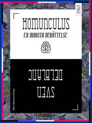 cover image of Homunculus